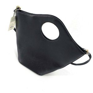 NWT A New Day Black Non Leather Tote Handbag